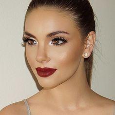 Make clássica,amo! ❤️ ___________ Classic makeup,love it! ❤️