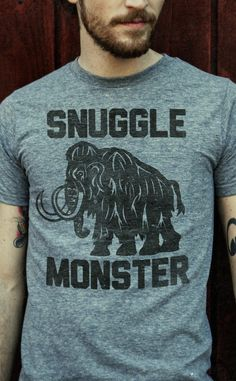 snuggle monster tee