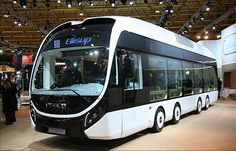 Iveco concept bus at Busworld 2013 CNH Industrial N.V.(GB)  #Iveco #concept #bus…