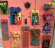 Wood Artwork inspired by Karel Appel – De Mello Teaching Wood Artwork, Kids Artwork, Cobra Art, Steam Art, Dutch Artists, Assemblage Art, Driftwood Art, Pastel, Art Plastique