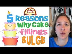 Why do cake fillings bulge and how can you prevent it? Here are the top five most common reasons why your fillings are likely to bulge plus solutions on how to prevent it