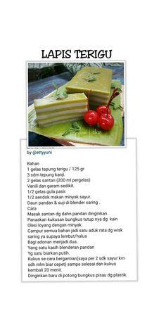 Unique Recipes, My Recipes, Cake Recipes, Snack Recipes, Dessert Recipes, Snacks, Bolu Cake, 5 Ingredient Desserts, Resep Cake
