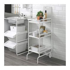 SUNNERSTA Utility cart IKEA Gives you extra storage in your kitchen.