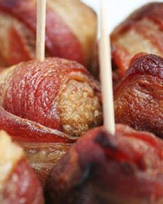 I like this recipe: Water Chesnuts Wrapped in Bacon