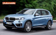 2017 BMW X3 - Renderings - http://www.bmwblog.com/2015/06/11/2017-bmw-x3-renderings/