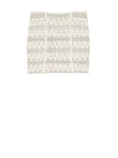 hoss intropia   LUREX AND KNITTED SKIRT