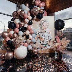 Balloon Arch, Balloon Garland, The Balloon, Its A Boy Balloons, 50th Birthday Party, Birthday Woman, Pink Birthday, 50th Birthday Balloons, Fall Birthday
