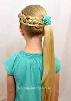4 Strand Braid with a Twist from BabesInHairland.com #4strandbraid #hair #braid #video #tutorial
