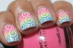 My go to summer nail design…LOVE | best stuff