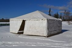 The Ice Bar tent