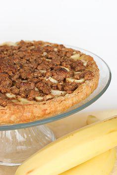 Banana & Hazelnut Tart