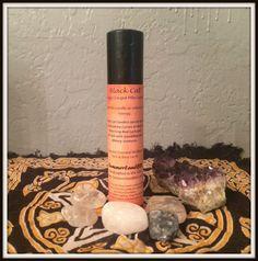 "Black Cat Energy Charged Pillar Candle ~ 1.5"" x 7"" ~ Reiki Charged Candle - Spell Candles ~ Altar Candles ~ Wicca ~ Witch ~ Handmade by SummerlandBB on Etsy"