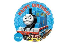 Foil Thomas the Train Singing Balloon 31in