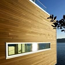 Genuine cedar tongue and groove siding is a modern take on Pine tongue and groove exterior siding
