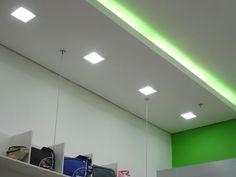 Resultado de imagem para como colocar lampadas embutidas no teto