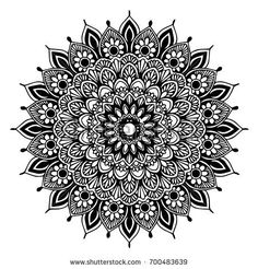 Mandalas Coloring Book Decorative Round Ornaments Stock Vector (Royalty Free) 764820337 - Mandalas for coloring book. Mandala Doodle, Mandala Art Lesson, Mandala Sketch, Mandalas Painting, Mandalas Drawing, Mandala Artwork, Mandala Coloring Pages, Zentangles, Mandala Design