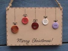 Merry Christmas handmade christmas wooden mdf decoration plaque