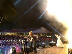 Tarja Turunen and Kevin Chown live at Leyendas del Rock, Villena, Spain, 13/08/2016 #tarja #tarjaturunen #leyendasdelrock #tarjalive PH: Tarja Turunen https://www.facebook.com/tarjaofficial/