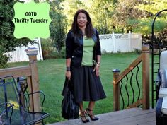 #OOTD #FashionAfterFifty #Thrifted #Goodwill #Autumn #Attire #dedivahdeals