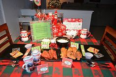 Our very first North Pole breakfast 2011!