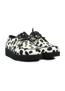 Półbuty BRONX na platformie, biało-czarne Loafers, Shoes, Fashion, Travel Shoes, Moda, Zapatos, Moccasins, Shoes Outlet, Fashion Styles