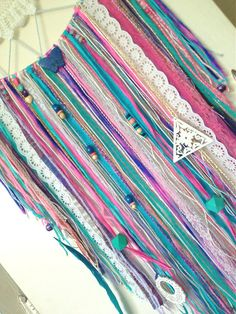 MADE TO ORDER Pink Blue & Purple Mermaid by StylishStuffBySteph