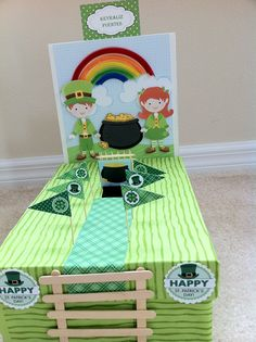 To Catch a Leprechaun School Projects, Projects For Kids, Diy For Kids, Craft Projects, Crafts For Kids, School Ideas, Project Ideas, St Patrick's Day Crafts, Holiday Crafts