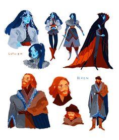 Beren & Luthien #TolkienNight