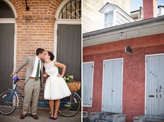 short dress, nola wedding