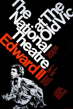 Edward II -- 1968 -- High quality art prints, framed prints, canvases -- National Theatre Posters