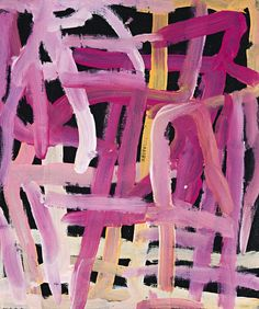 Emily kame kngwarreye is one of several Aboriginal painters whose work reminds me of abstract expressionism. This looks like finger painting. Her work references the repetitive walking patterns made by her tribe, and in this way it also reminds me of the grids that we see in minimalist work.