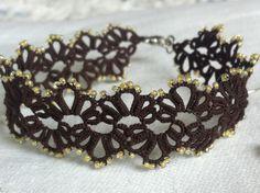 Bracelet inspired by Mary Konior's honeysuckle design