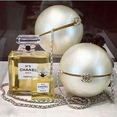 d92307cd2 Coco Chanel Pearl Bag is gorgeous. No 5 is the only perfume I wear and I  still love it after the many years I've been using it.