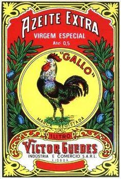 Rooster Olive Oil Label