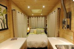"""The Firefly design followed our Dragonfly which is our contemporary take on the tiny house movement. The Firefly features a design that could comfortably sleep three people on the main level and is suitable for entertaining with lots of storage. The house is twenty-four feet in length and eight foot four inches wide with a...  <a class=""""excerpt-read-more"""" href=""""https://robinsonplans.com/home-plans/contemporary/contemporary-firefly-24/"""" title=""""ReadContemporary Firefly-24"""">Read more</a>"""