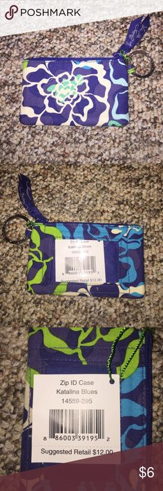 Vera Bradley Zip ID Case Brand new with tags, never used. Vera Bradley Bags Wallets