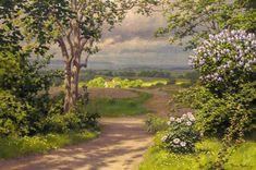 The Athenaeum - Early Summer Landscape (Johan Krouthén - )