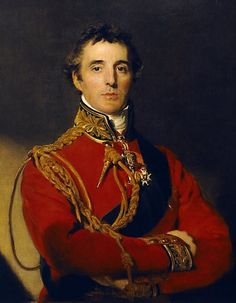 Field Marshal Arthur Wellesley, 1st Duke of Wellington, KG, GCB, GCH, PC, FRS (1 May 1769– 14 September 1852), one of England's   leading military and political figures of the 19th century. Winner at Waterloo.