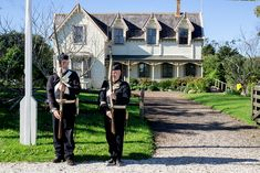 Visit Howick Historical Village to learn about the fencible period any day of the week. Early Settler, Explore, Mansions, House Styles, Villas, Exploring, Palaces, Mansion, Mansion Houses