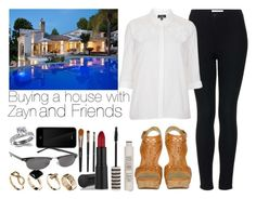 """""""Buying a house with Zayn and friends"""" by aras-aniluap ❤ liked on Polyvore featuring Sigerson Morrison, Topshop, New Look, Urban Outfitters, GAB, Incase and Fantasy Jewelry Box"""