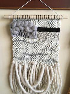Neutral Handmade/Handwoven Wall Weaving / Wall Art / Fiber Art