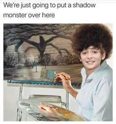 Stranger things is one of the funniest fiction television sitcoms that is popular among teens. Believe Me, its Memes are equally funny and hilarious. so Below are 47 Funny 'Stranger Things' Memes That A Die-Hard Fan Must Watch. Stranger Things Netflix, Stranger Things Quote, Stranger Things Have Happened, Stranger Things Aesthetic, Stranger Things Auditions, Stranger Things Monster, Stranger Things Lights, Shadow Monster, Saints Memes