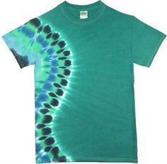 tie dye patterns | Wholesale Tie Dye, Ocean Cascade Tie Dye T shirts