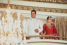 Balcony Entrance Wedding Reception(fairmont san Francisco)