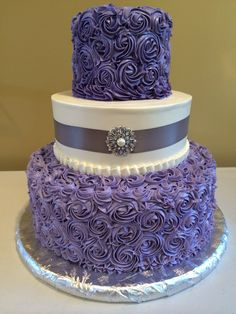 Wedding cake from The Pasty Palace Chicago
