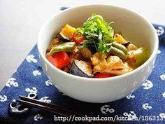 お酢でさっぱり☆豚肉と夏野菜の南蛮丼の画像