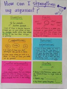 Elaborate in opinion writing. Support your reasons by adding...