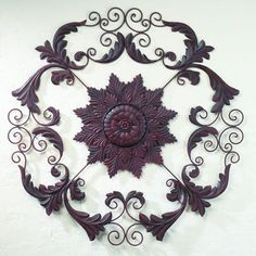 Whether you're looking for outdoor metal wall art or interior wrought iron wall decor, Iron Accents has you covered. Explore our beautiful selection of wrought iron wall decor and much more. Outdoor Metal Wall Art, Metal Wall Decor, Metal Art, Mediterranean Wall Decor, Mediterranean Style, Wrought Iron Wall Art, Monogram Wall, Fence Art, Iron Decor