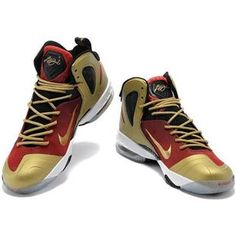 LeBron 9 P.S. Elite Gold Black Red Lebron 9 Shoes 8fe26affbf