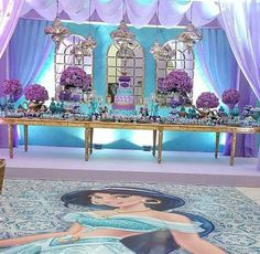 aladdin decoração de festa de aniversário Aladdin Birthday Party, Aladdin Party, Birthday Parties, Debut Ideas, Princess Jasmine, Arabian Nights, Boy Or Girl, Kids, Wedding